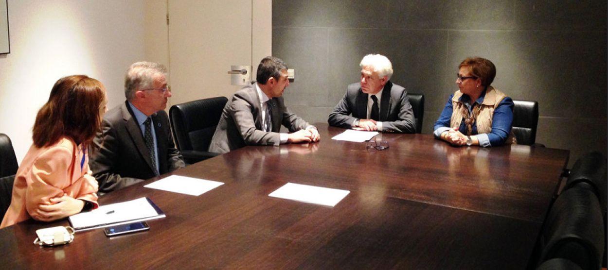 Reunión del PSOE con FEDE