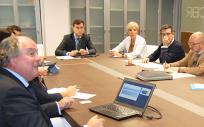 Sesión de trabajo de la Comisión de Innovación en La Rioja en la que se ha definido el borrador del I Plan Estratégico de Innovación.