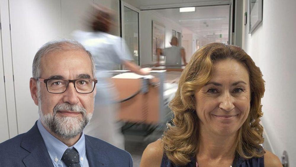 Fernando Domínguez y María Martín, consejeros de Navarra y La Rioja