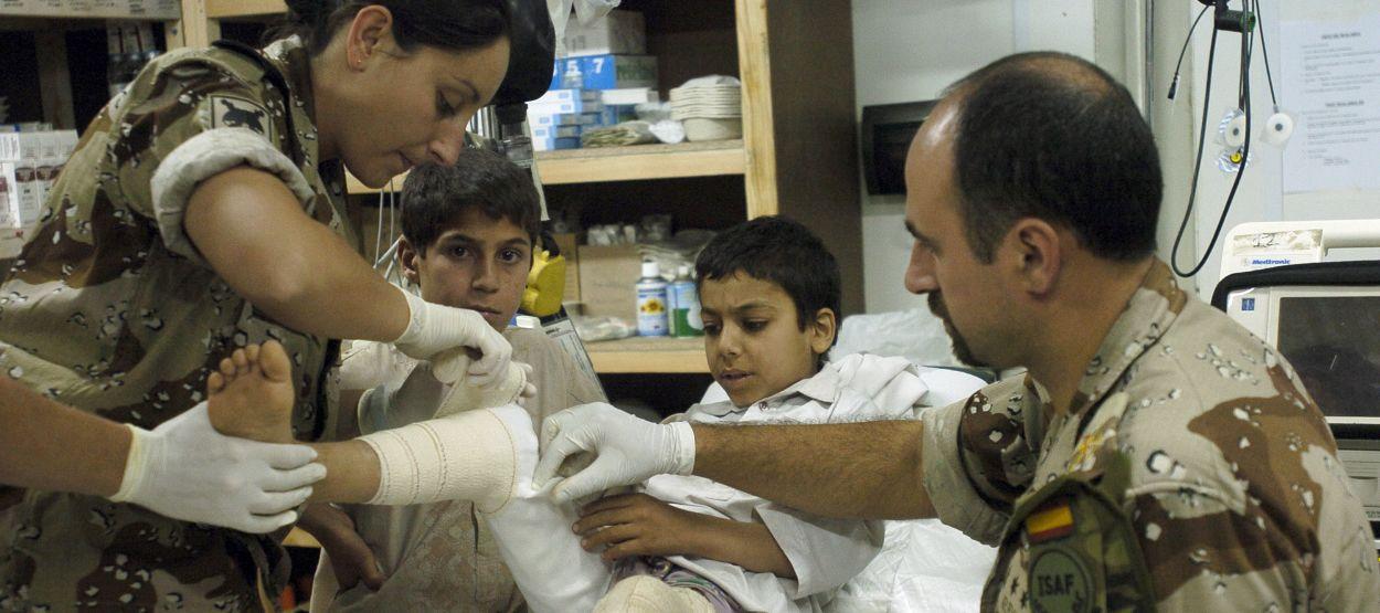 Defensa busca a hasta 50 sanitarios que quieran ser reservistas voluntarios en las Fuerzas Armadas