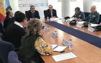 Reunión de la presentación del nuevo protocolo de actuación con interlocutores policiales