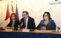 El consejero de Sanidad de Castilla La Mancha, Jesús Fernández Sanz