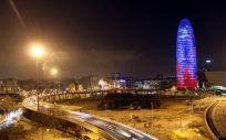La Torre Agbar en Barcelona sería la sede de la EMA si llega este organismo europeo a España.