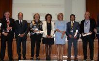 Dolors Montserrat en la entrega de la X Edición de los Premios NAOS