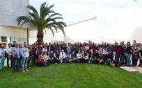 Foto de grupo de los asistentes