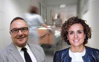 José Manuel Baltar, consejero de Sanidad de Canarias, y Dolors Montserrat, ministra de Sanidad.