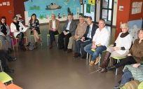 Encuentro entre el Ejecutivo de La Rioja y los miembros de la Asociación Riojana de Enfermedades Raras