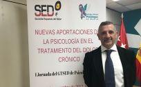 Antoni Castel, coordinador del grupo de Trabajo de Psicología y Dolor de la Sociedad Española del Dolor (SED)