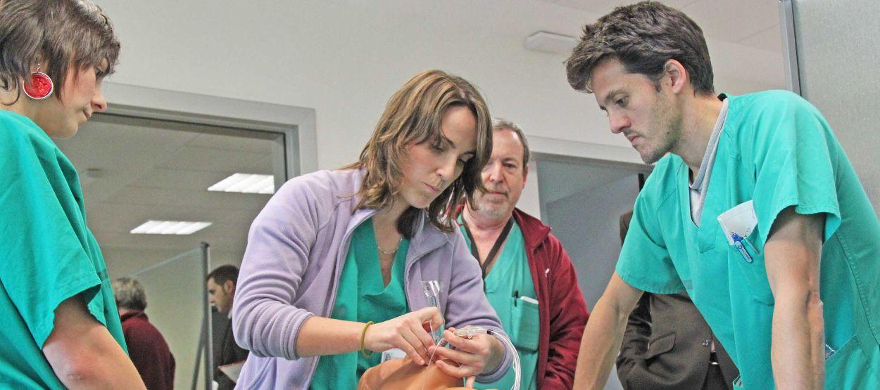 El 18% de los médicos colegiados en España tienen menos de 35 años