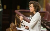 Dolors Montserrat, durante su intervención en el Congreso.