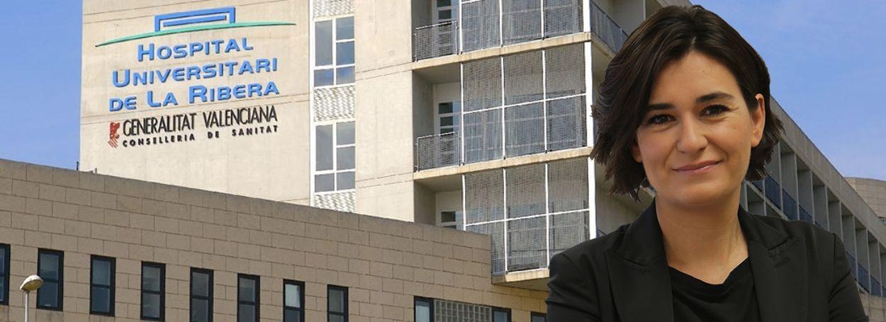Carmen Montón, consejera de Sanidad de la Comunidad Valenciana.