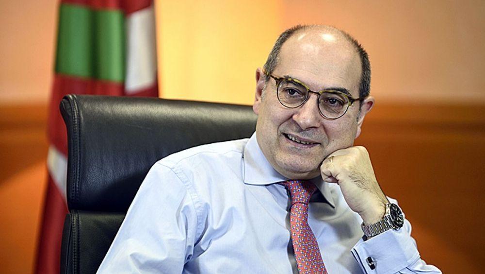 Jon Darpón, consejero de Salud del País Vasco.