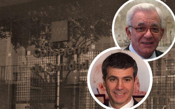 En la imagen, Jesús Sánchez Martos (arriba), y Adolfo Fernández-Valmayor, presidente del IDIS (abajo).