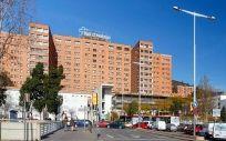 El Hospital Vall d'Hebrón registraba este jueves a 61 pacientes en Urgencias esperando cama