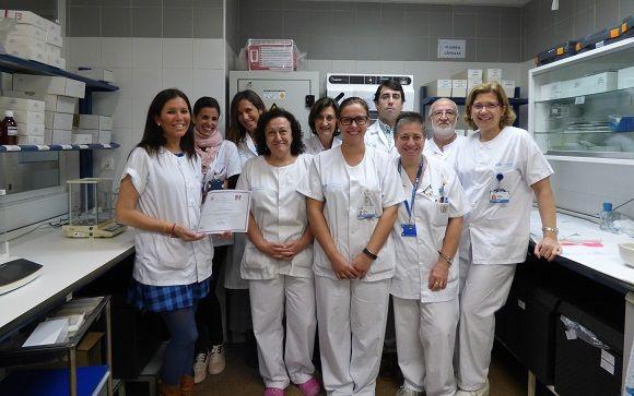 Equipo de Farmacia del Clínico San Carlos.