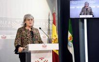 Aurora Venegas, secretaria general de la Consejería de Sanidad y Políticas Sociales de Extremadura.