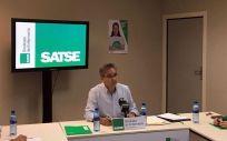 Manuel Cascos, presidente de Satse.