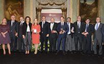 Los galardonados con los Premios Panorama y las Medallas del Consejo a los mejores medicamentos del año.