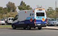 Ambulancia DCCU del Servicio Andaluz de Salud