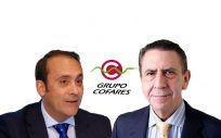 De izq. a drcha.: Eduardo Pastor, vicepresidente de Cofares; y Juan Ignacio Güenechea, presidente de Cofares.