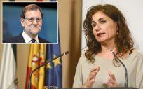 Mariano Rajoy, presidente del Gobierno; y María Jesús Montero, consejera de Hacienda de la Junta de Andalucía.
