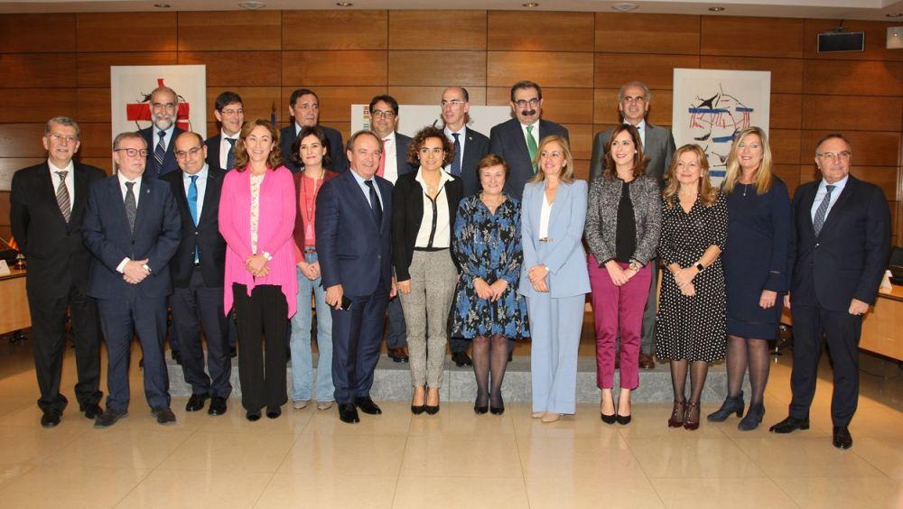 Imagen del último Consejo Interterritorial celebrado noviembre con la ausencia de representantes de la Generalitat.