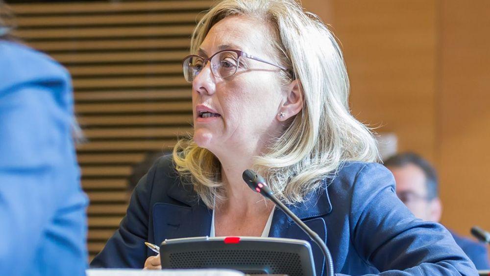 Teresa Angulo, portavoz de Sanidad del PP en el Congreso.