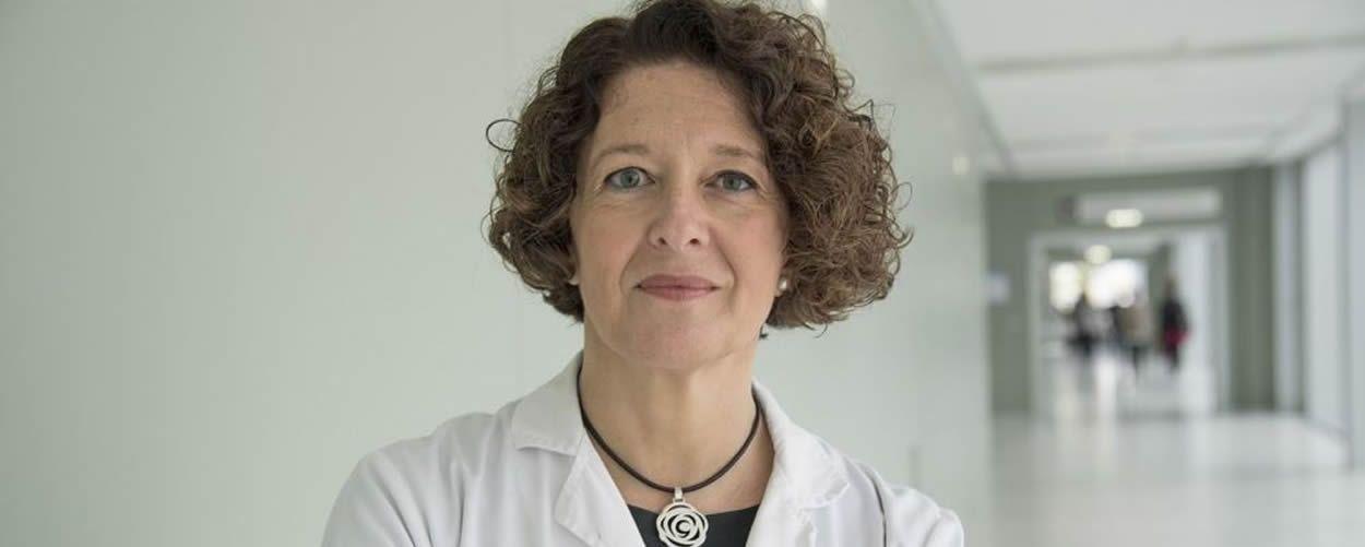 La oncóloga Ruth Vera, presidenta de la Sociedad Española de Oncología Médica (SEOM)