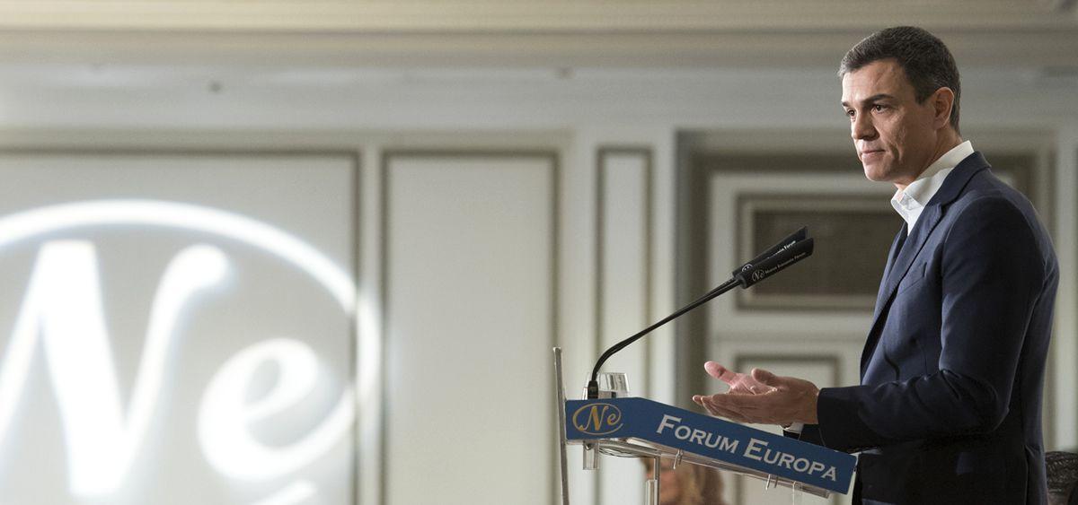 Pedro Sánchez, secretario general del PSOE.