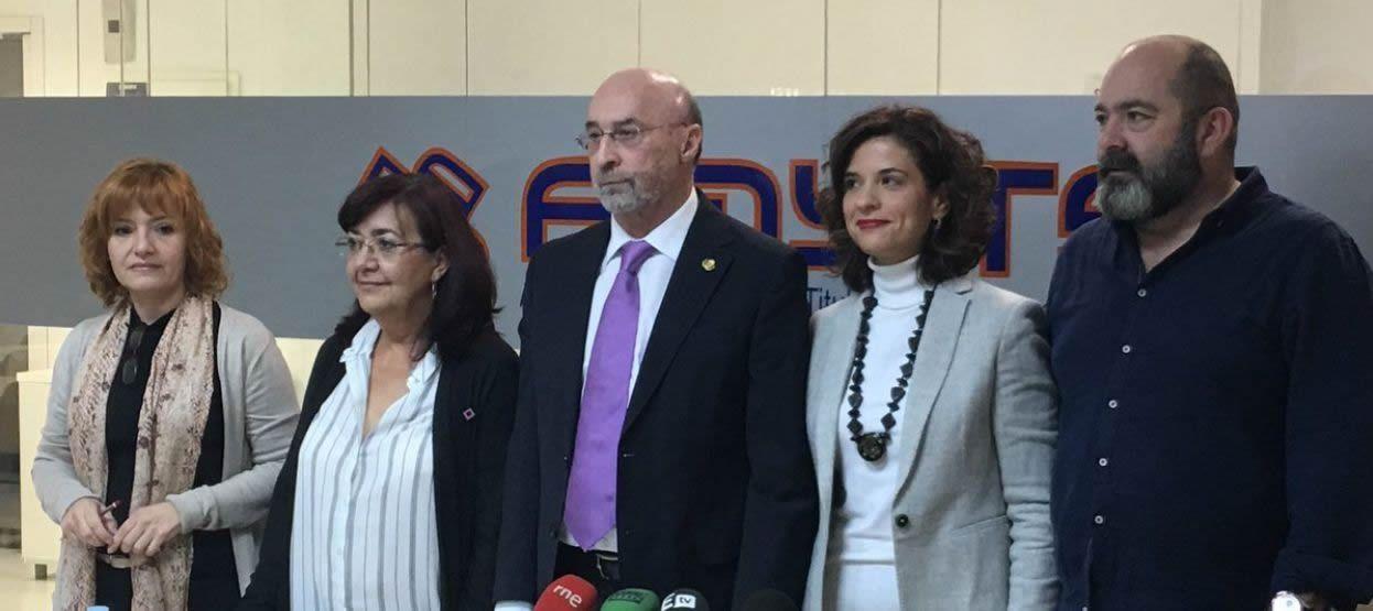 Representantes de los sindicatos de la Mesa Sectorial de Sanidad en la Comunidad de Madrid