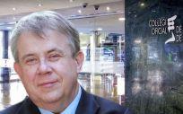 Jaume Padrós, presidente del Colegio de Médicos de Barcelona