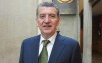El consejero de Sanidad de Aragón, Sebastián Celaya