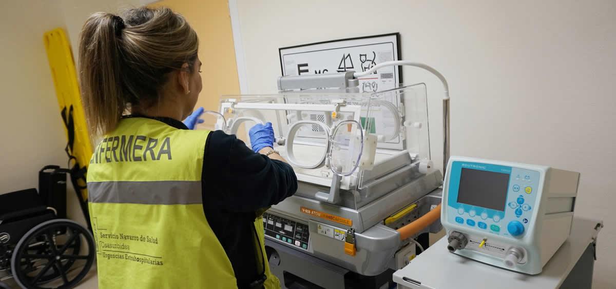La nueva incubadora cuenta con control digital de temperatura y humedad a criterio médico y con fuente de oxígeno propia