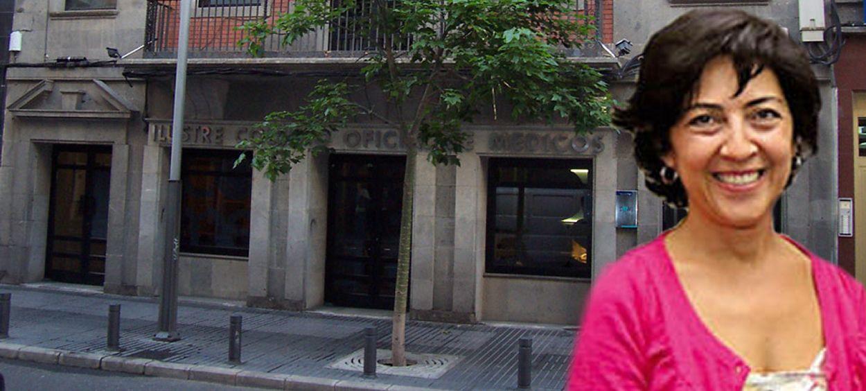 La secretaria general del Colegio de Médicos de Las Palmas, Marta León