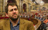 Toni Comín, exconsejero de Salud de Cataluña.