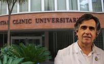 Álvaro Bonet, director gerente del Hospital Clínico de Valencia