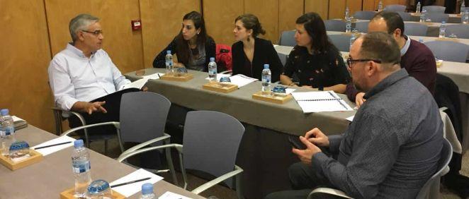 Uno de los talleres celebrados en las las 21º Jornadas Nacionales de Grupos de Trabajo