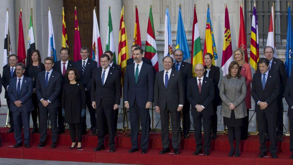 Imagen de la Conferencia de Presidentes del pasado mes de enero.