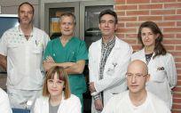 Equipo de investigadores del Hospital Universitario de Guadalajara | Imagen: J. Javier Ramos González