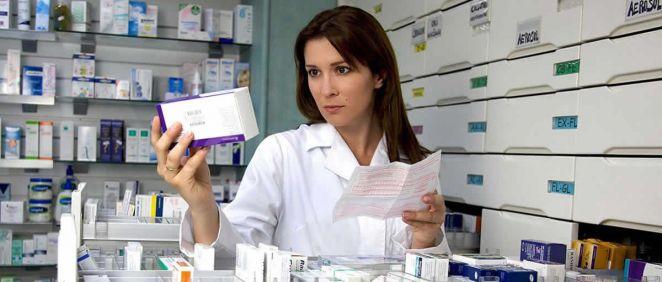 Un total de 52.567 farmacéuticos, tanto del sector público como del privado, se encontraban en activo en el año 2014