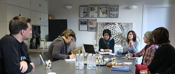 La Asociación de Prensa de La Rioja acoge la Escuela de Pacientes de enfermedad renal crónica