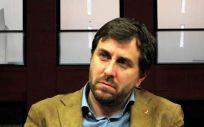 Toni Comín, exconsejero de Sanidad de Cataluña