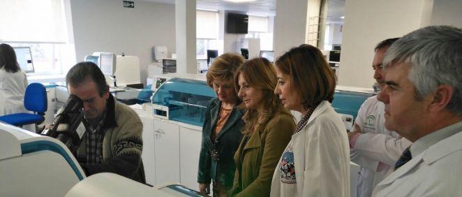 La consejera de salud de Andalucía, Marina Álvarez, visita las nuevas instalaciones del Complejo Hospitalario de Jaén