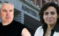 El vicepresidente de Avite, Rafael Basterrechea y la ministra de Sanidad, Dolors Montserrat