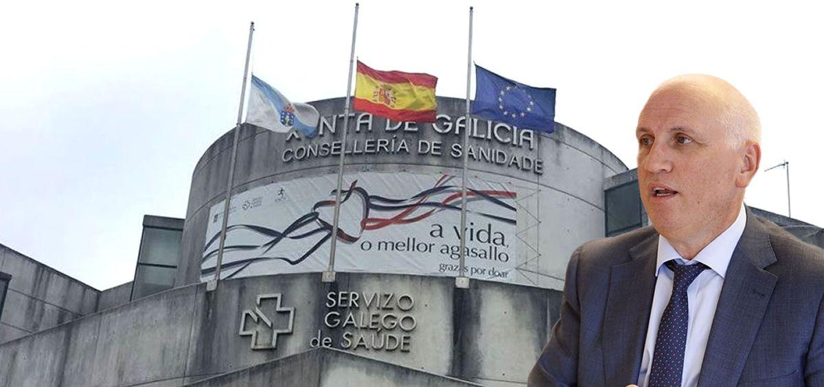 """En caso de confirmarse las intenciones de sindicatos y Sergas (en la imagen Antonio Fernández Campa, gerente), Asmig anuncia que presentará un recurso administrativo de reposición contra """"un acuerdo elitista"""""""