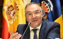José Manuel Baltar, consejero de Sanidad de Canarias.