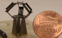 El robot milliDelta desarrollado por la Universidad de Harvard (Estados Unidos)