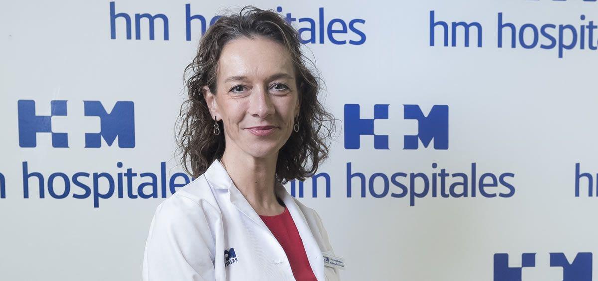 La doctora Eva Ciruelos
