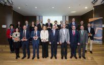 Foto familiar de los premiados en la II Edición de los Premios SaluDigital (Imagen: Agustín Iglesias)