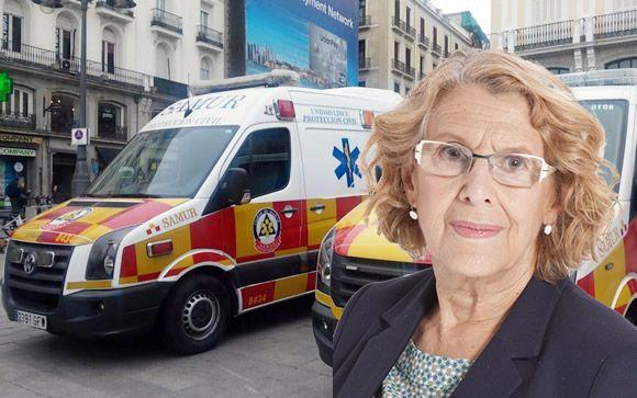 """Los sindicatos convocan paros en el SAMUR-P.C. por """"incumplimientos"""" del equipo de Carmena"""